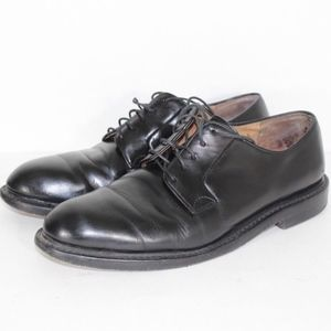 J Crew Preston Leather Dress Shoes Mens 10.5 Black